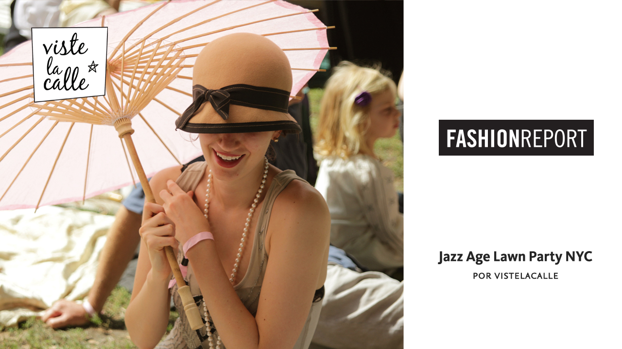 Fashion Report: Jazz Age Lawn Party en Nueva York