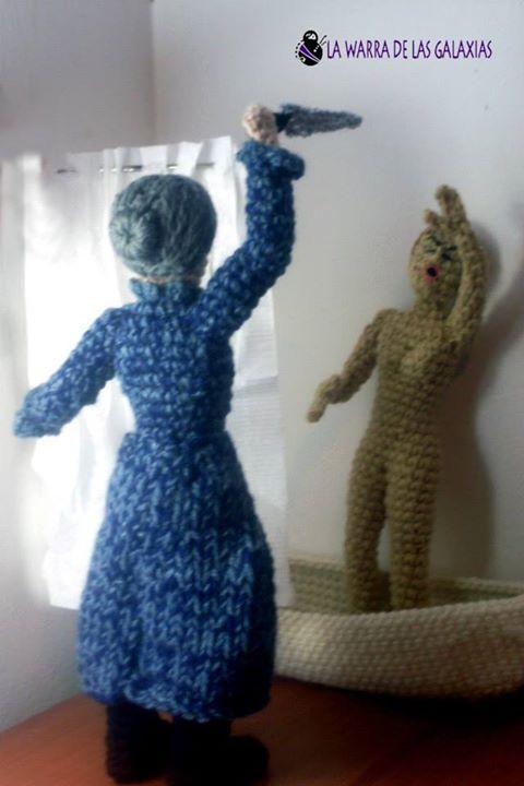La Warra de las Galaxias: Películas e iconos tejidos a crochet