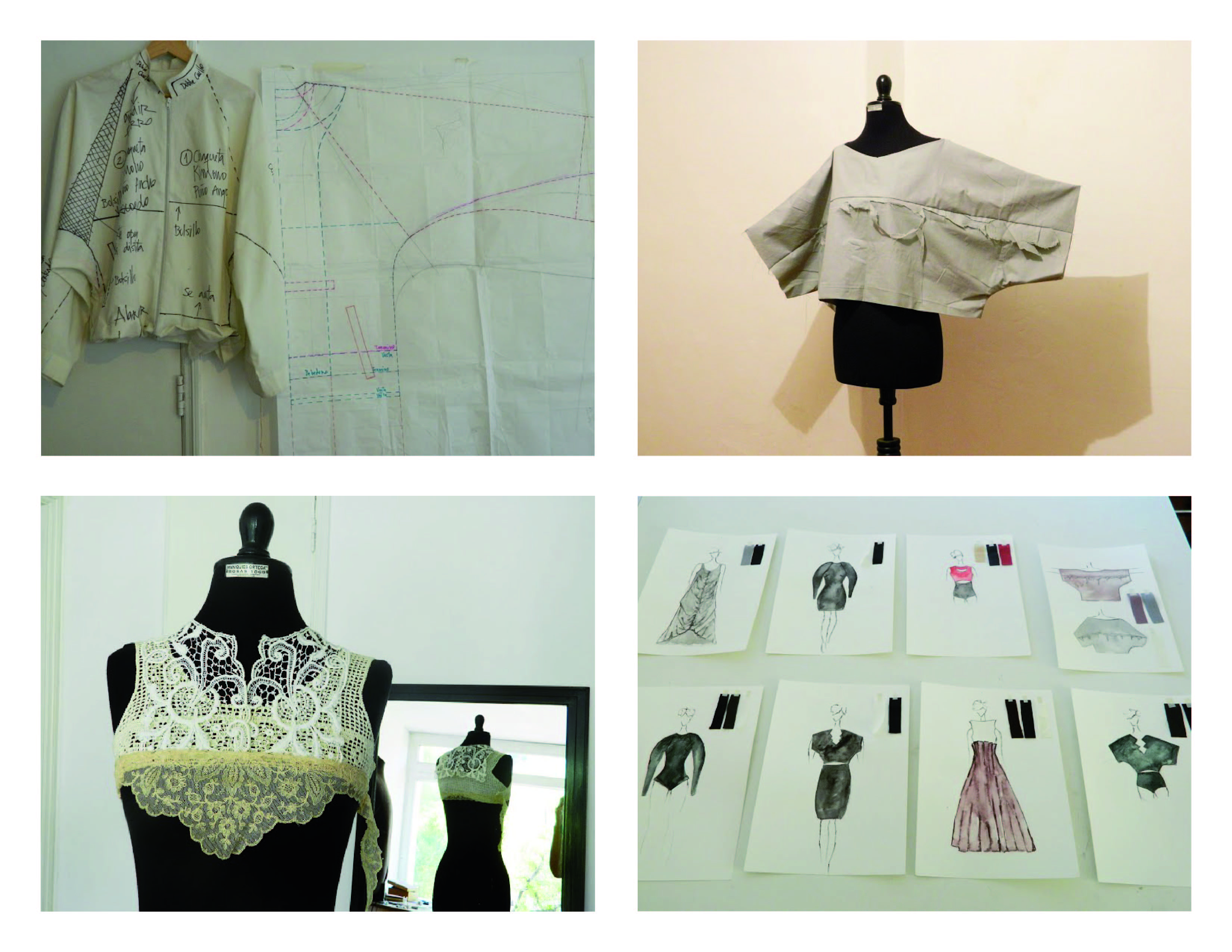 Taller Estructuras del Vestuario, una forma personalizada de aprender sobre confección