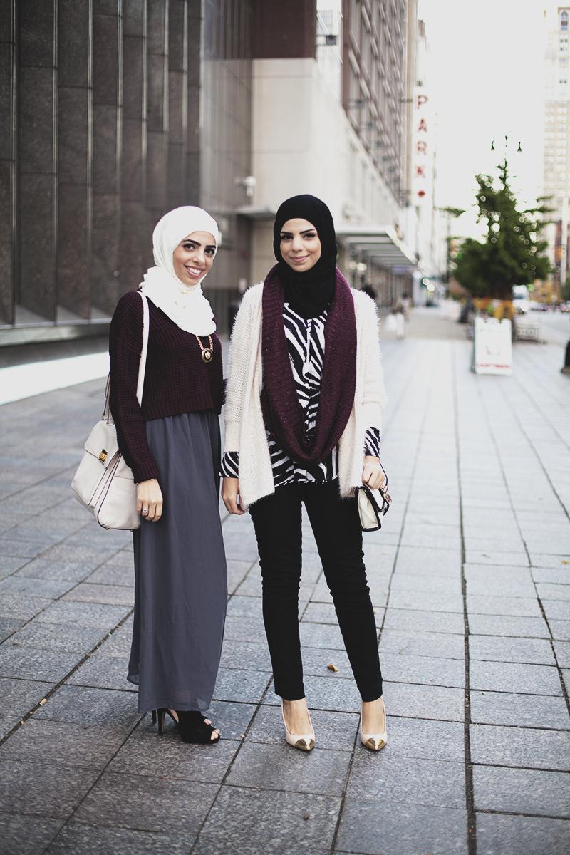 Hijabistas Mujeres Musulmanas Que Logran Combinar