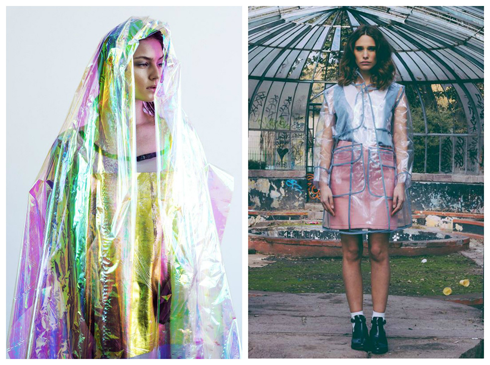 VLC Trends: Impermeables transperentes y con estilo