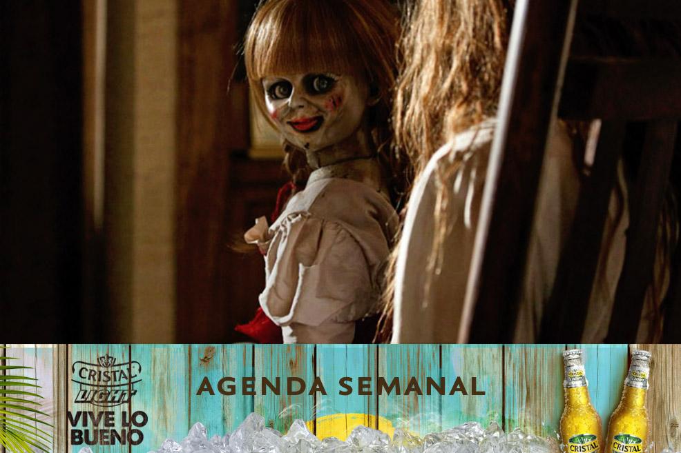 Agenda Cristal Light: Panoramas del 30 de octubre al 2 de noviembre
