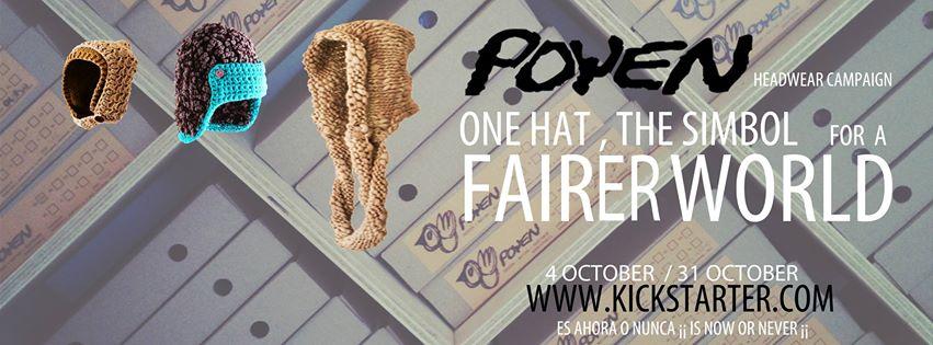 Poyen Headwear: La marca chilena de gorros tejidos que busca apoyo de crowdfunding