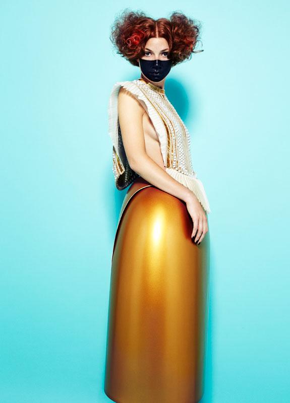 La diseñadora Serena Gili: Jugando con la silueta femenina