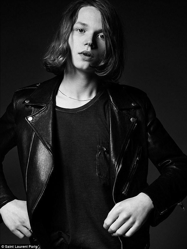 Jack, el hijo de Val Kilmer que se transformó en modelo de Saint Laurent