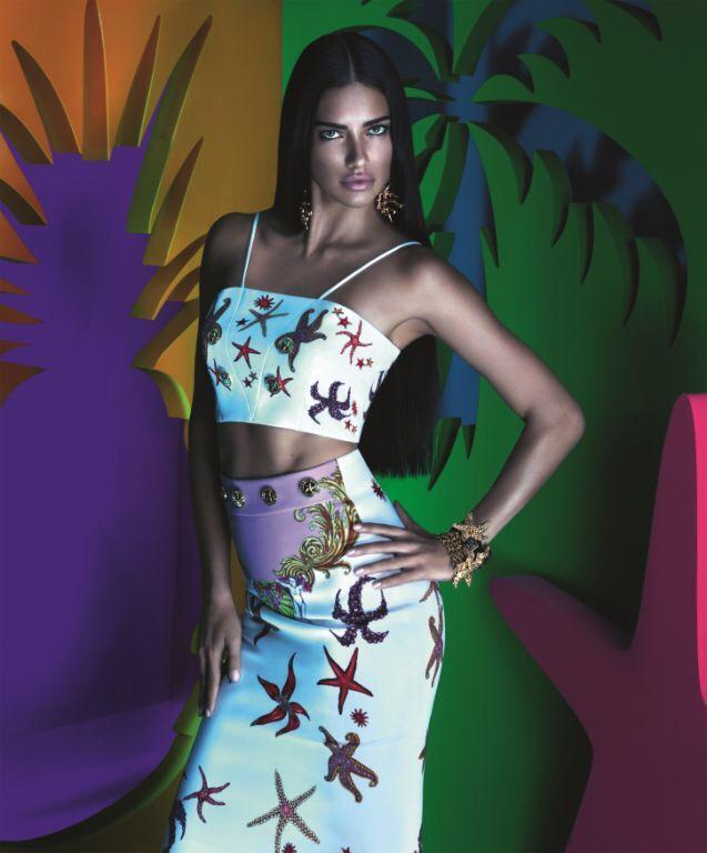 La colección de Versace para la tienda brasileña Riachuelo