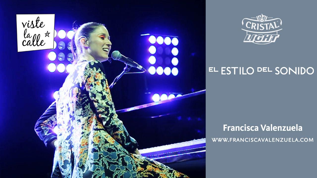 El Estilo del Sonido: Francisca Valenzuela
