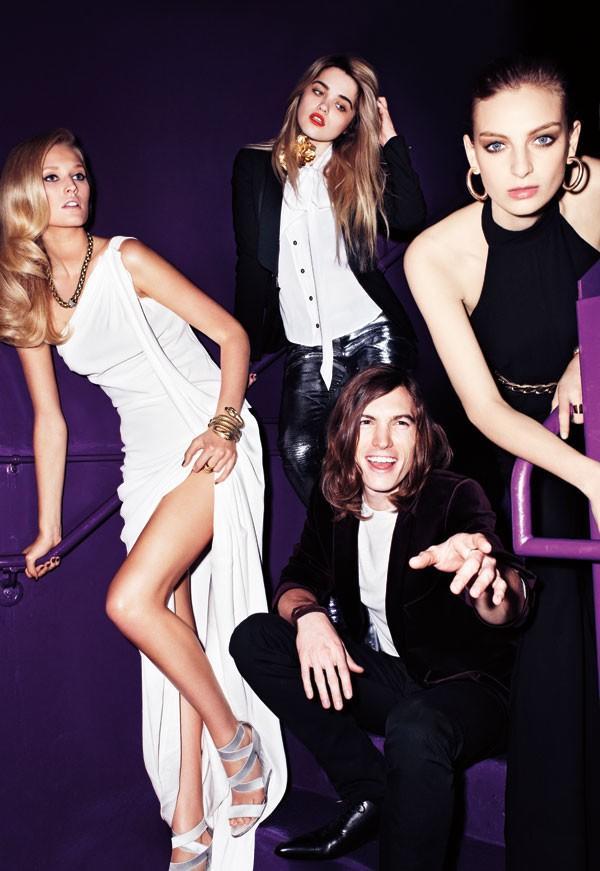 Una fiesta de Año Nuevo con Harper's Bazaar, 2011