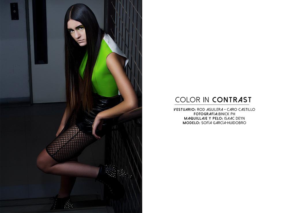 #ColorInContrast: La editorial de los alumnos UDLA para el examen de Sociocultura de la Moda
