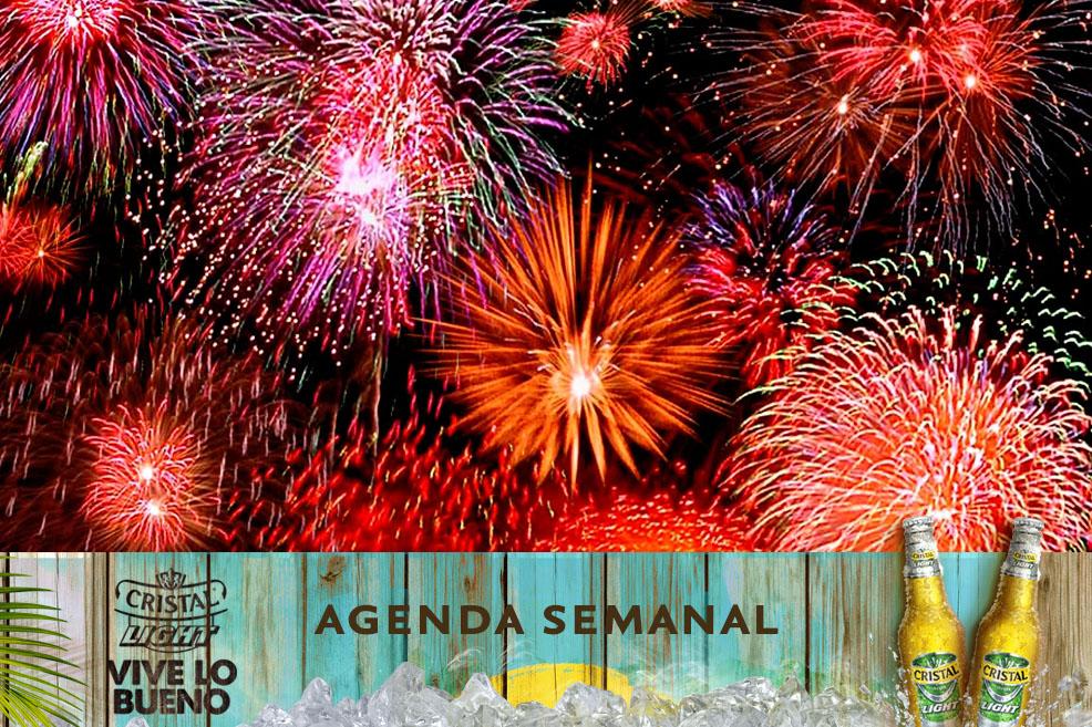 Agenda Cristal Light: ¡Panoramas del 31 de diciembre al 4 de enero de 2015!