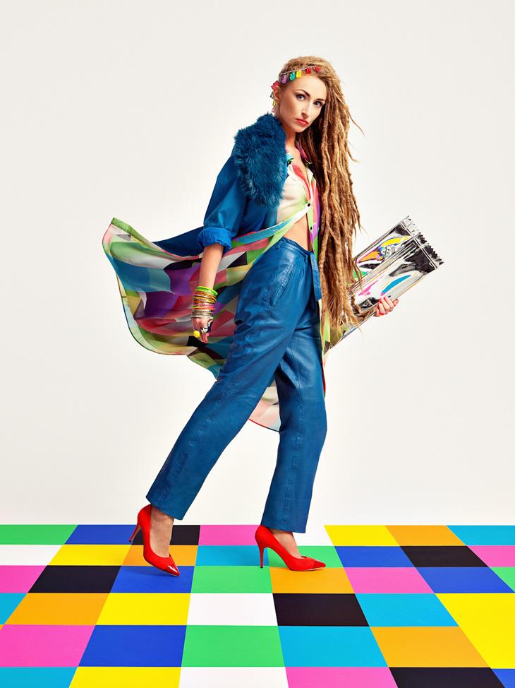 "Caleidoscopio pop en ""WOW"", editorial Design Scene (2013)"