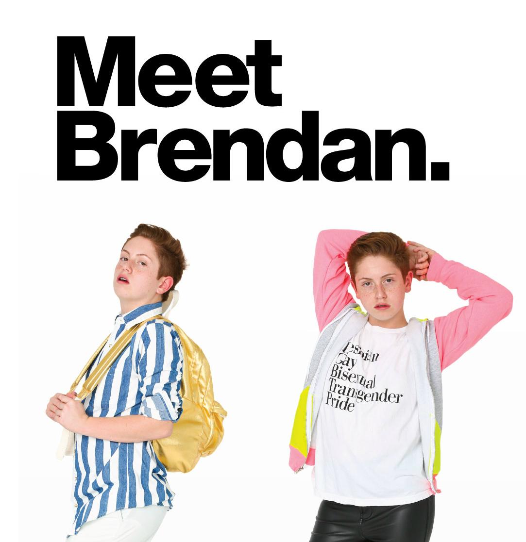 Brendan Jordan: El niño que robó cámaras con sus poses es ahora modelo de American Apparel