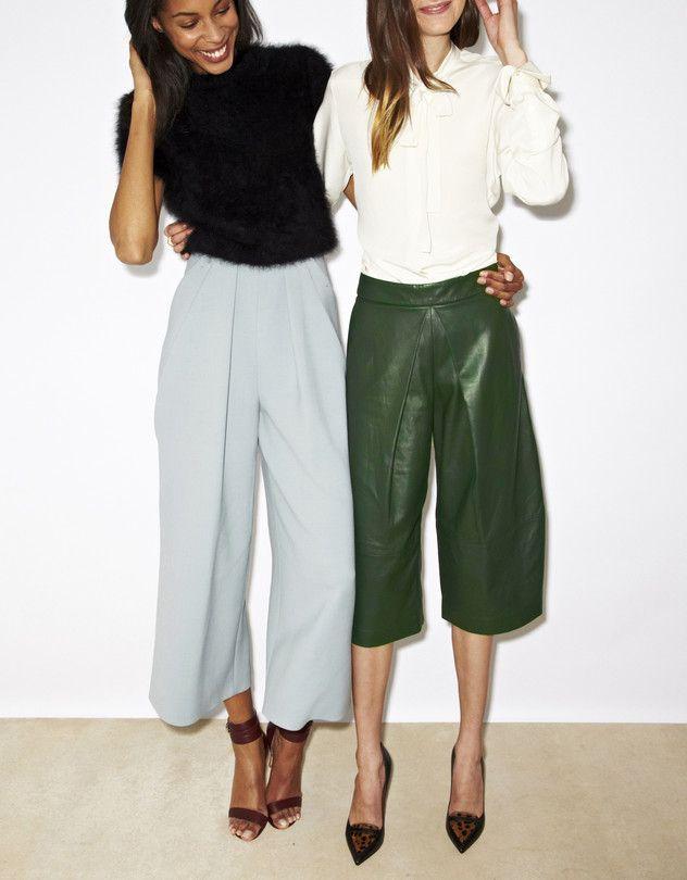 Pantalones Culottes: de imposibles a un must de la temporada
