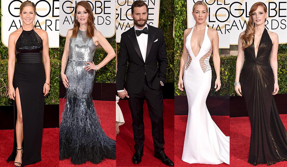 Los trajes de los Golden Globes 2015