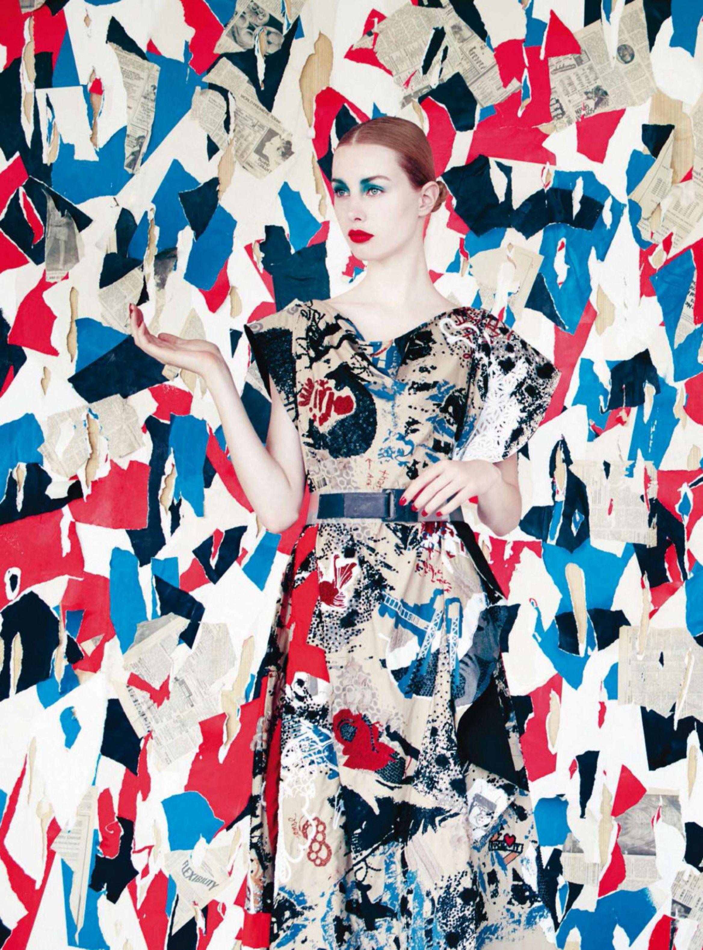 Las colecciones S/S 2015 según Harper's Bazaar UK, 2015