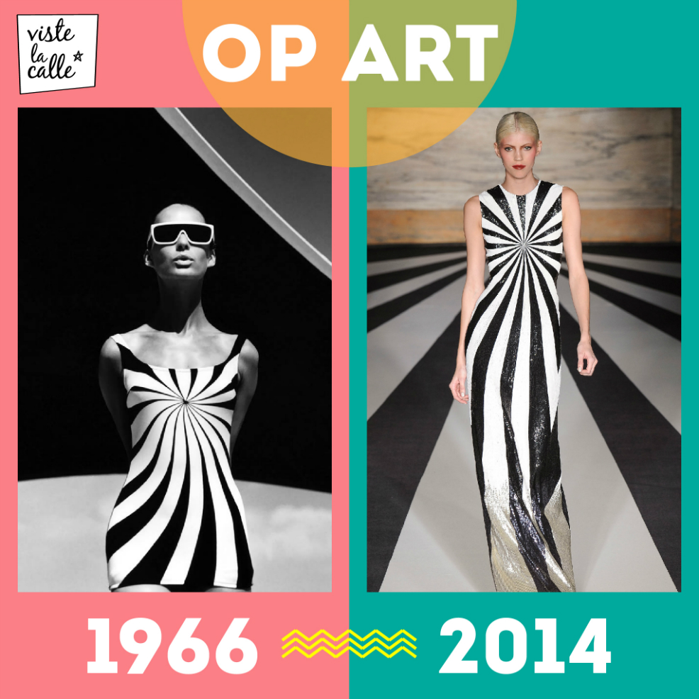 It's not the same but it's the same: Op Art