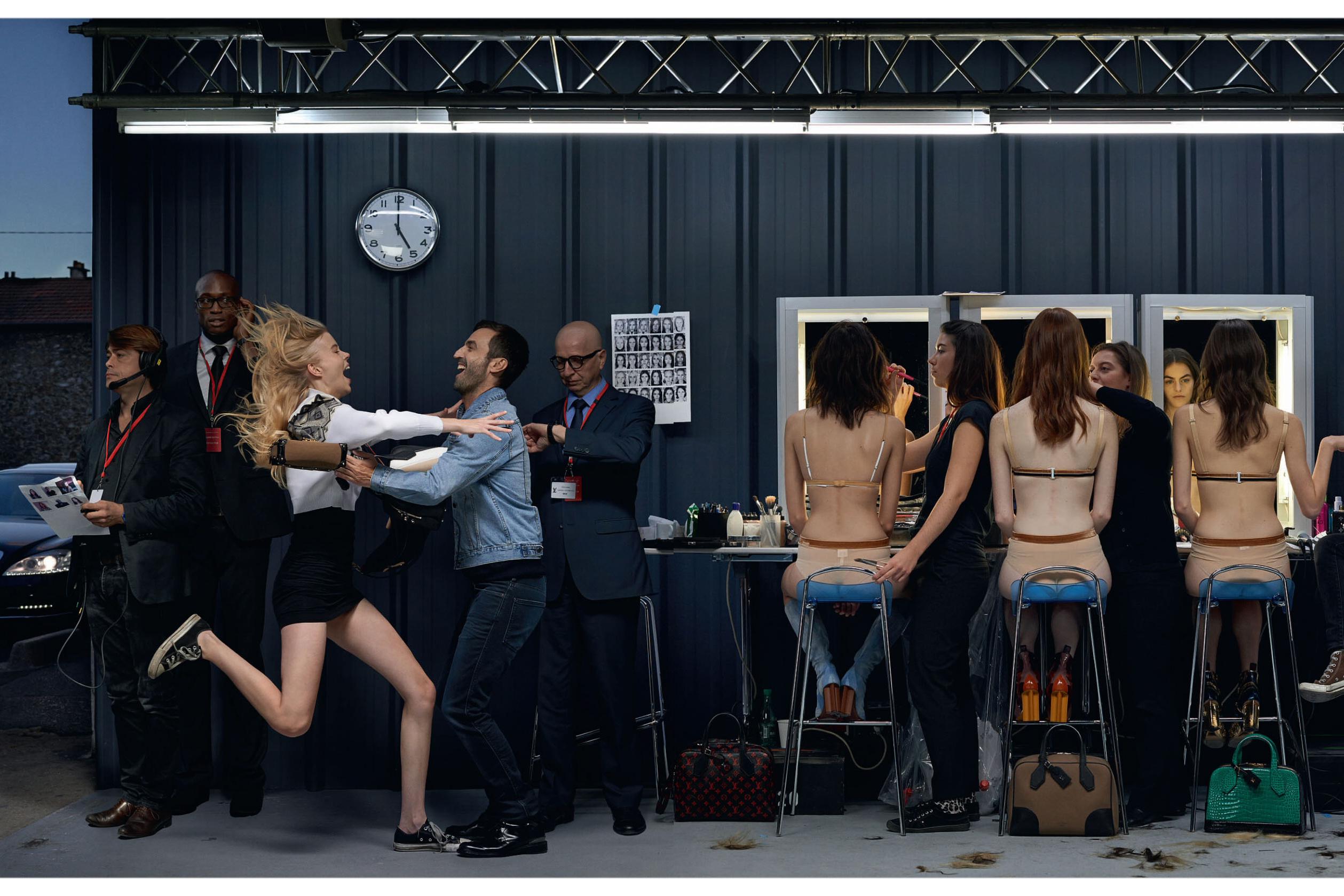 """""""Showtime"""" de Louis Vuitton y Jean-Paul Goude para Elle UK, 2015"""