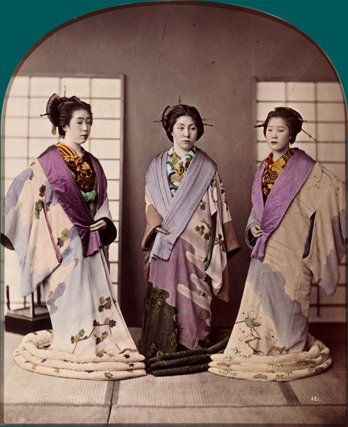 Portal Francia-Japón: Un acceso las representaciones visuales históricas de la moda japonesa gracias las Bibliotecas Nacionales de Francia y Tokio