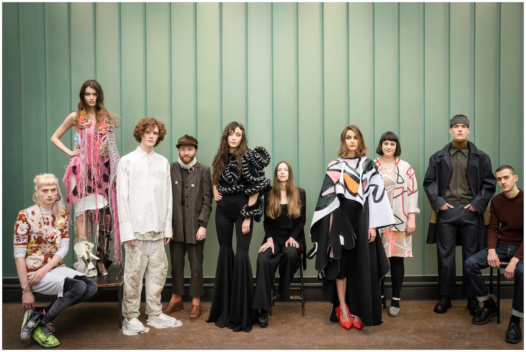 Las pasarelas de los estudiantes de Central Saint Martins en London Fashion Week Fall Winter 2015
