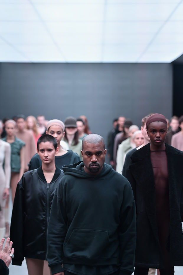 El debut de Kanye West en las pasarelas de New York Fashion Week