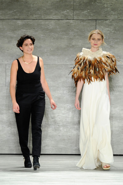 El debut de la diseñadora chilena Lupe Gajardo en New York Fashion Week FW 2015