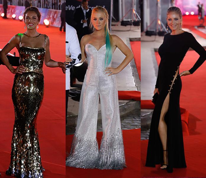 Los trajes de la Gala del Festival de Viña 2015