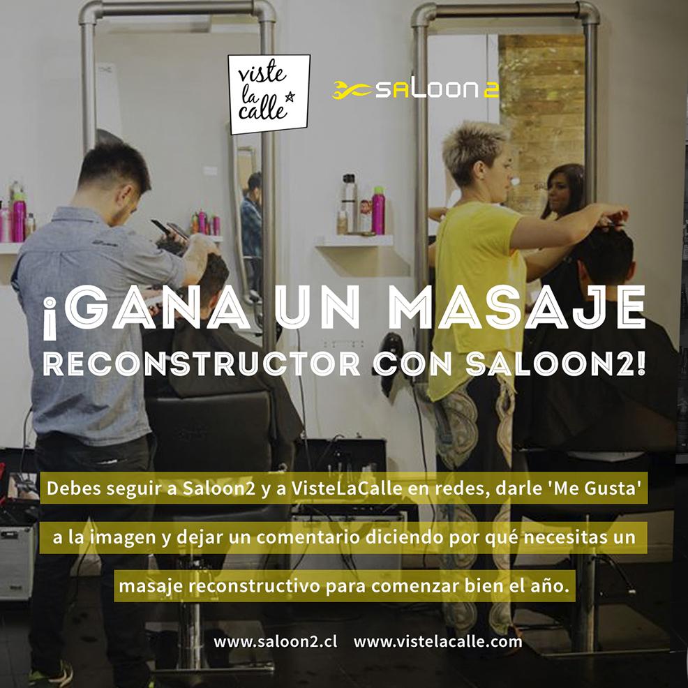 Concurso VisteLaCiudad: ¡Gana un masaje reconstructor con Saloon2!