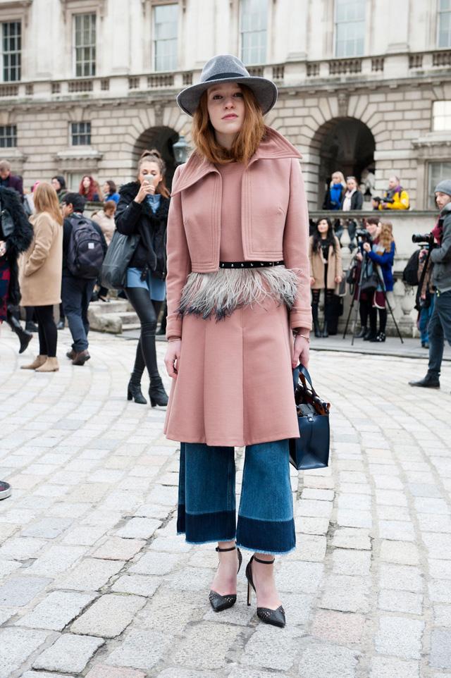 Lo mejor del Street Style de London Fashion Week FW15