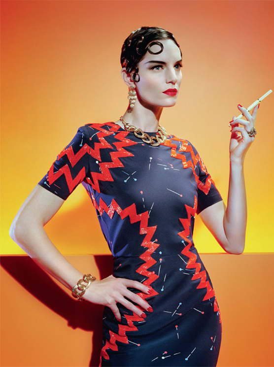 El estilo de Miles Aldridge para Vogue Italia, 2015