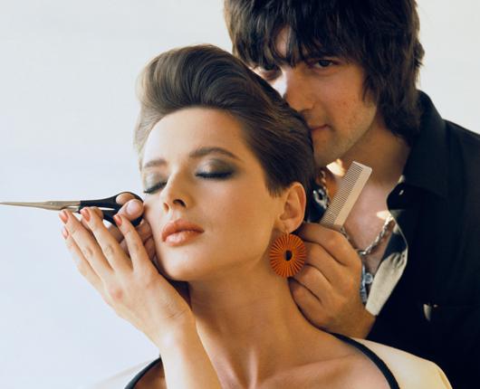 John Sahag, el peluquero favorito de la moda en los '80