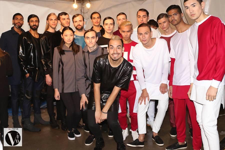 """""""Átomo"""", la colección otoño/invierno 2015 de la marca chilena Hanspohl en Vancouver Fashion Week"""