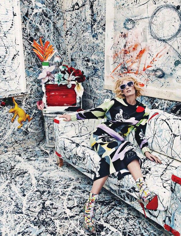 El Neoexpresionismo y la moda según Vogue Germany, 2014