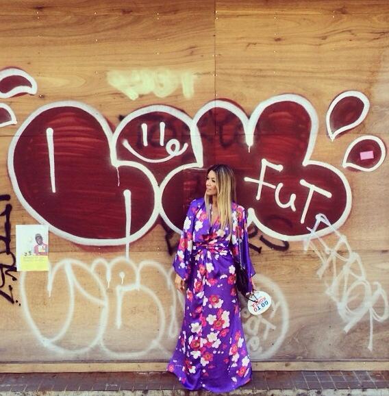 Diseñadores brasileños: Los kimonos de Maria Sanz