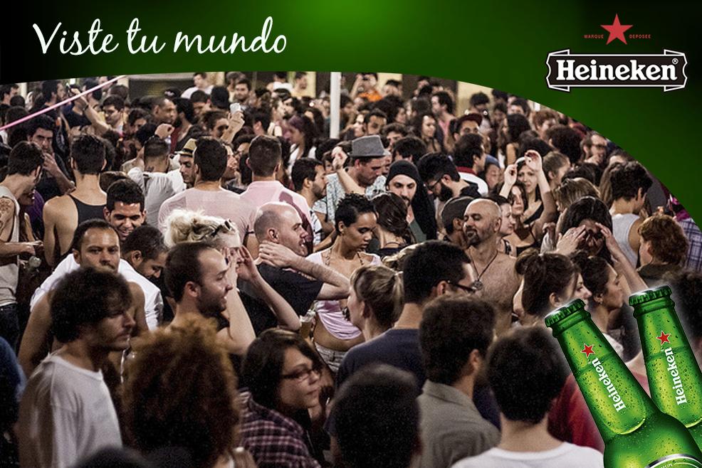 Heineken: Voodoohop, las fiestas más esperadas de Sao Paulo