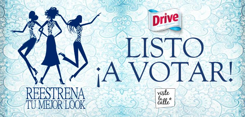 ¡Vota por tus favoritos en Reestrena tu Mejor Look con Drive!