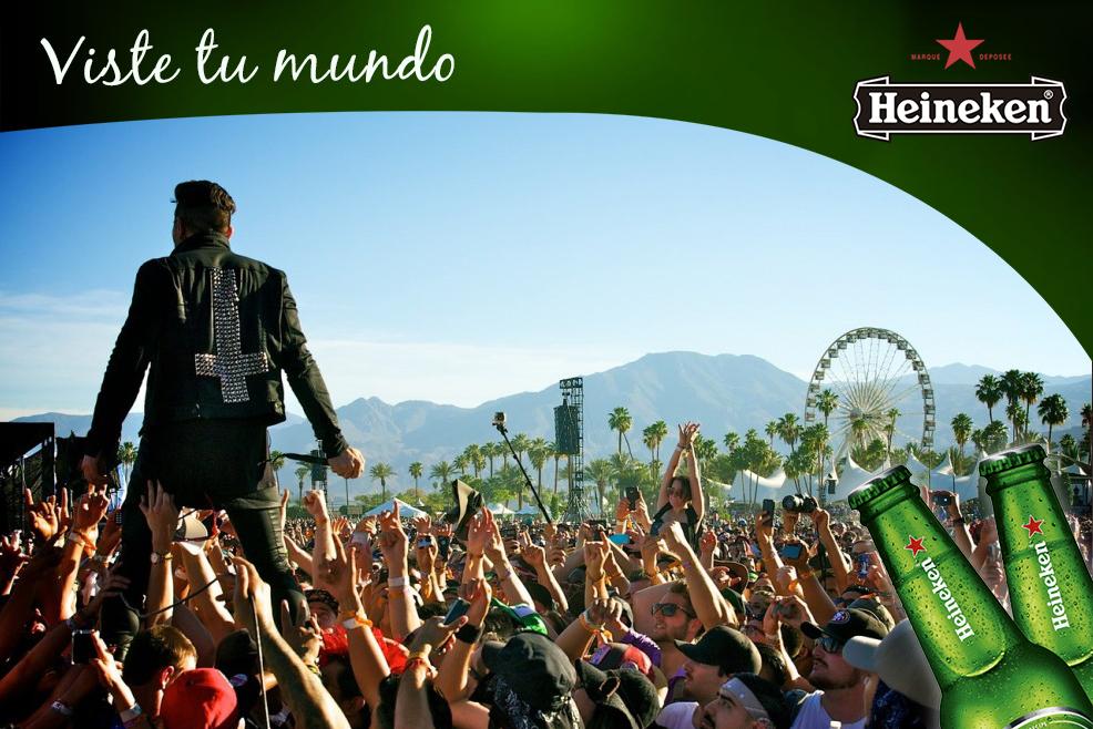 Ábrete al mundo de la mano de Heineken
