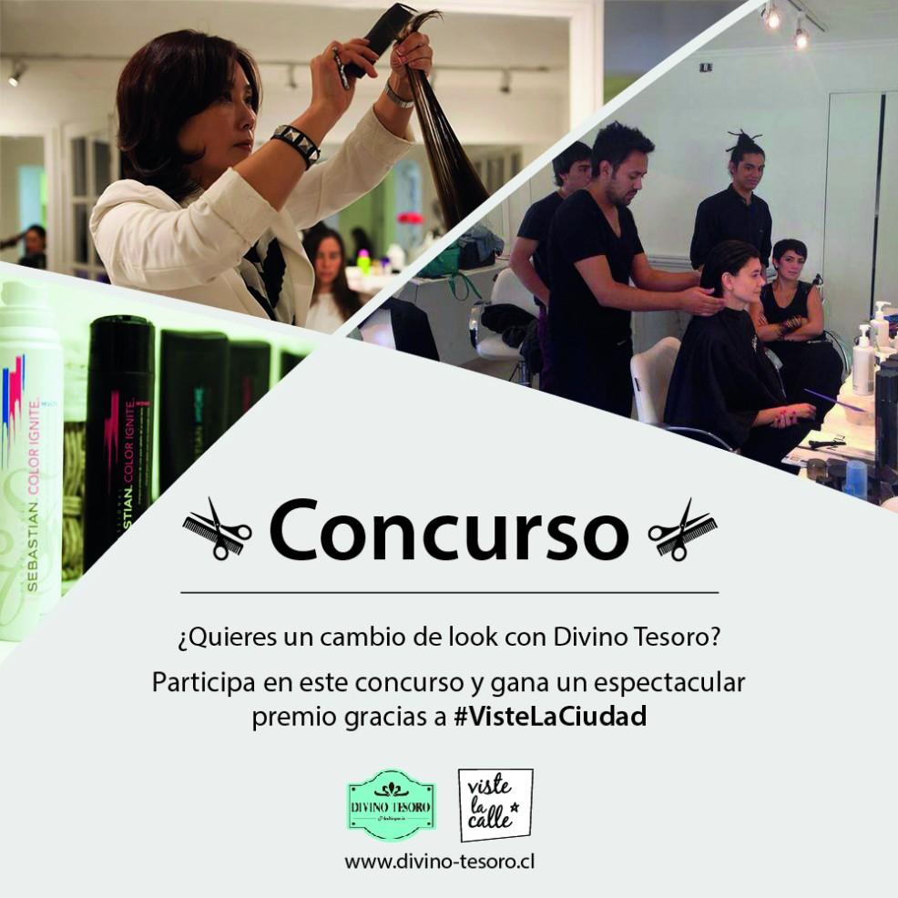 Concurso VisteLaCiudad: ¡Gana un cambio de look completo con la peluquería Divino Tesoro!