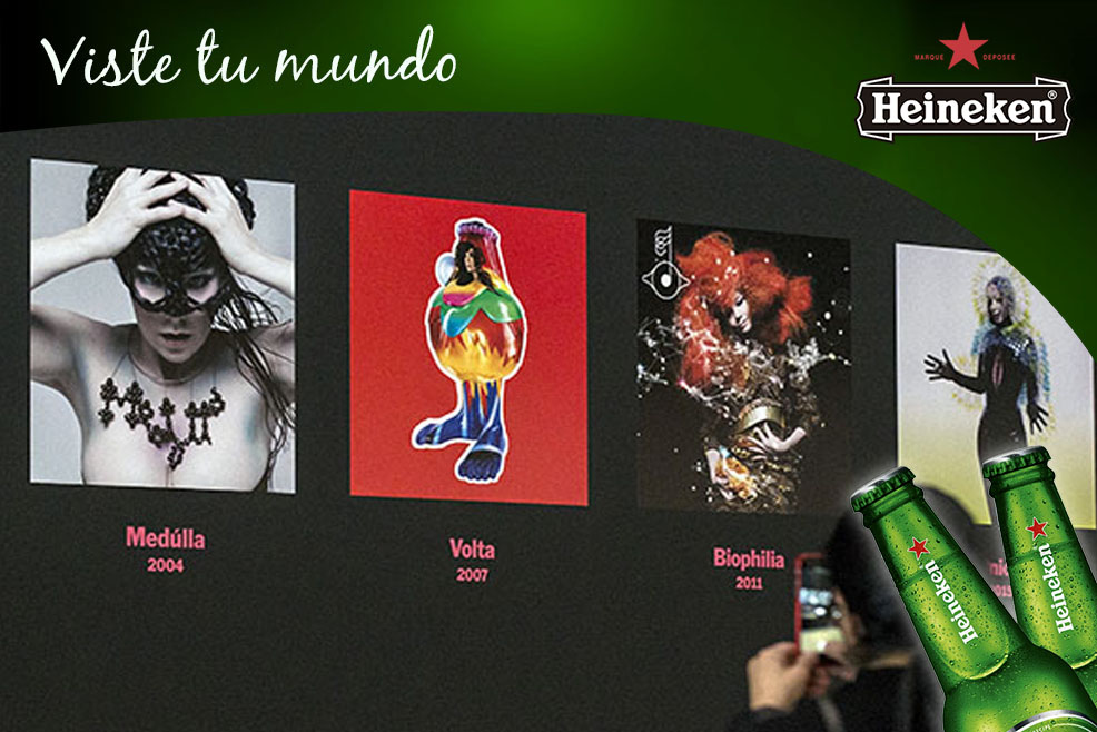 Heineken: Por qué vale la pena ver la exhibición de Björk en el MoMA