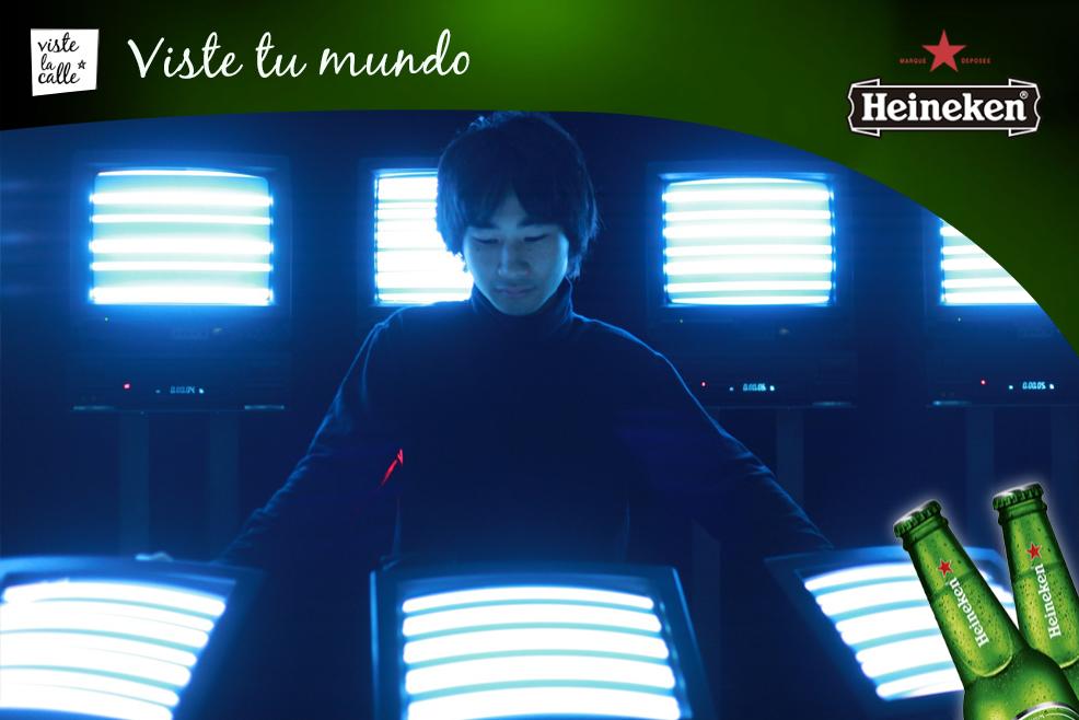 #HeinekenLife: Los shows con instrumentos no convencionales en 'A taste of Sónar +D' by Mazda Rebels