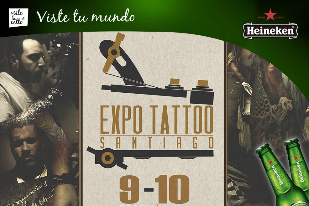 Expo Tatto Santiago 2015 y su lista de tatuadores reconocidos a nivel mundial #HeinekenLife