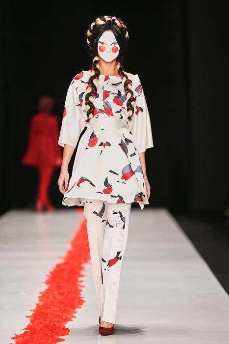 Las mejores pasarelas de Mercedes-Benz Fashion Week Russia O/I 2015
