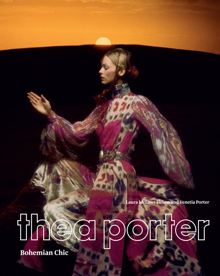Thea Porter y una exhibición dedicada a la pionera del boho