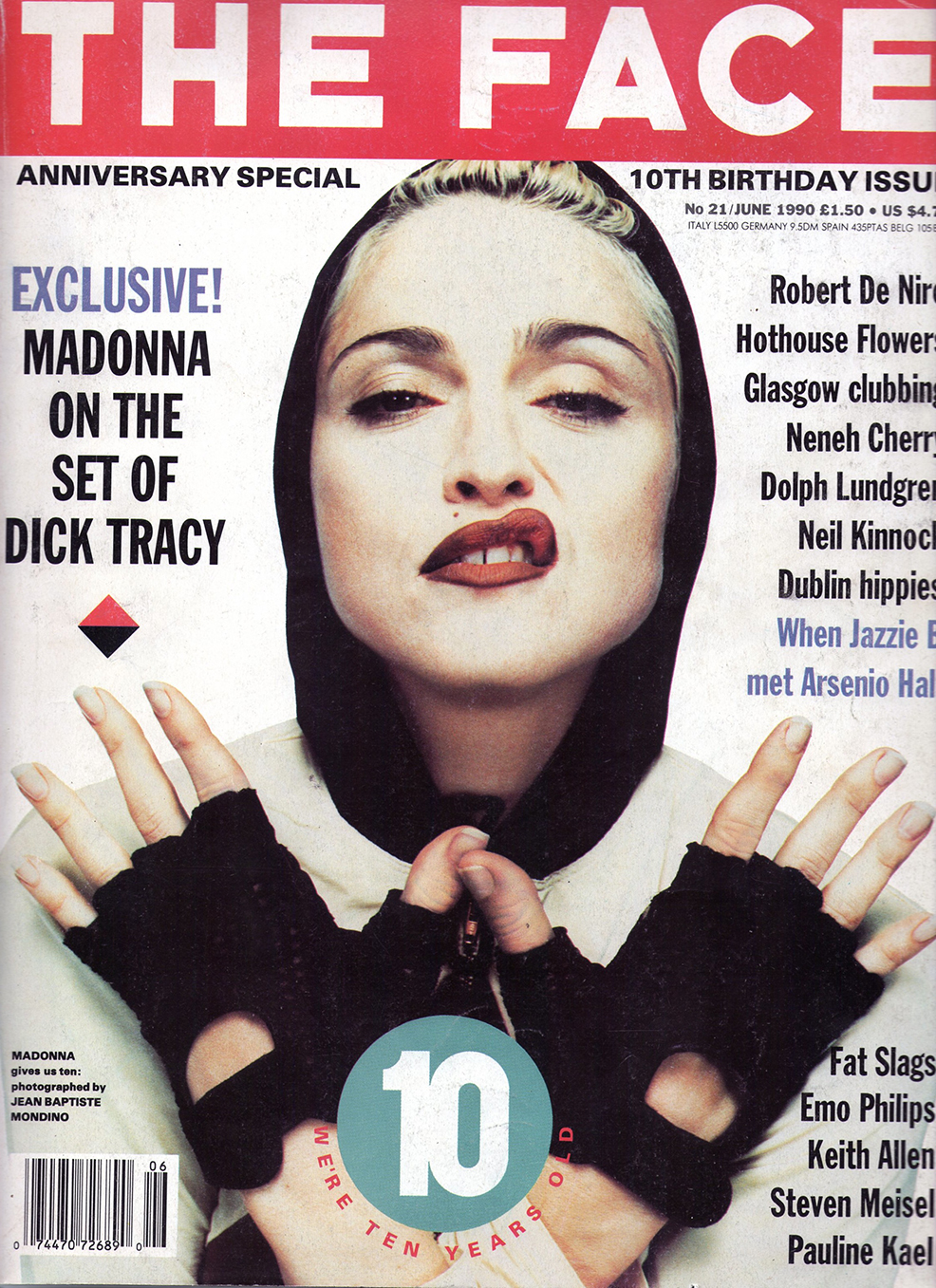 The Face, la revista de moda y subculturas de los 80 y 90's