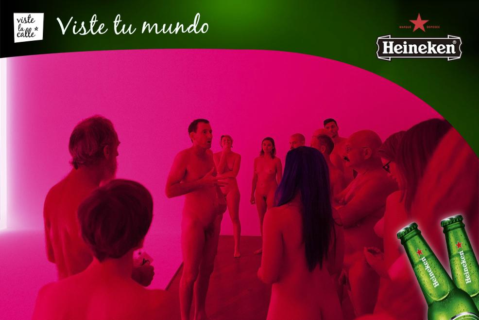 La luminosa retrospectiva con asistentes desnudos, del artista James Turrell #HeinekenLife