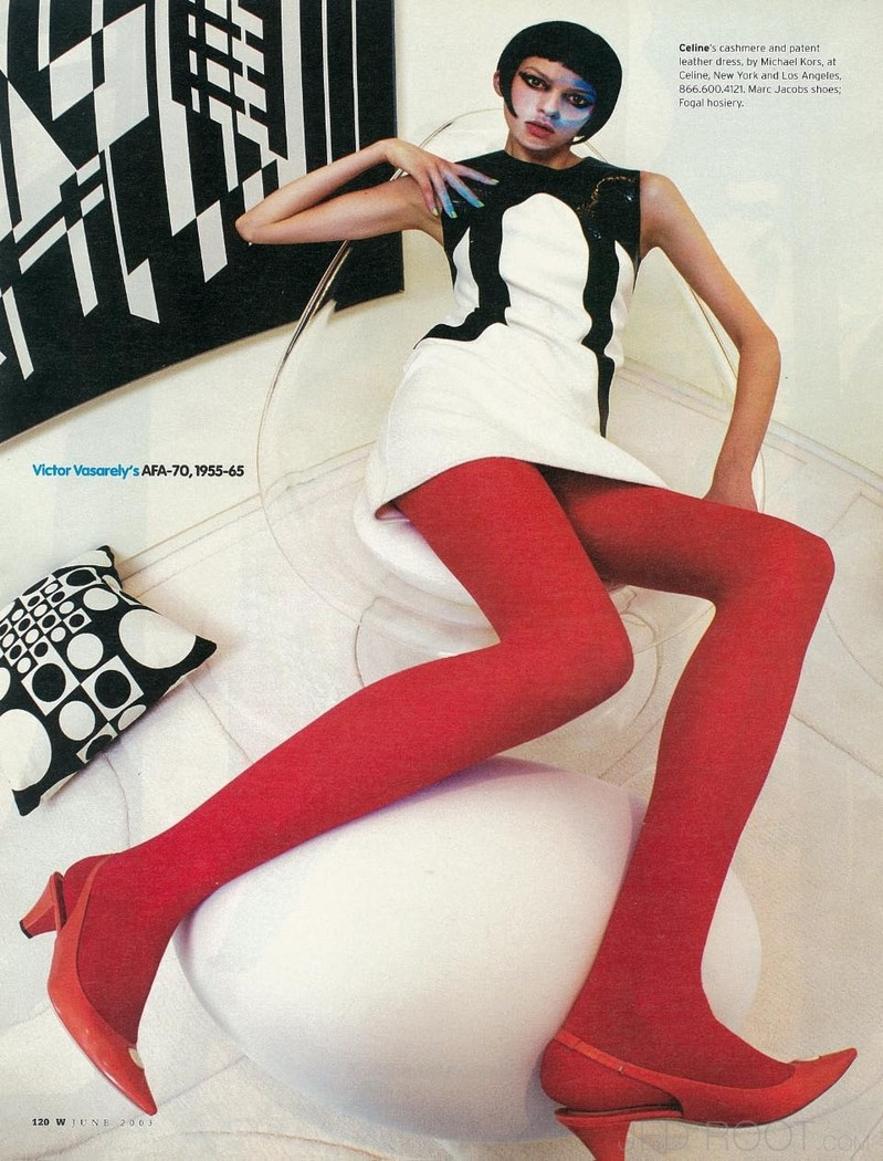 El pop retro en el 2003 según W magazine