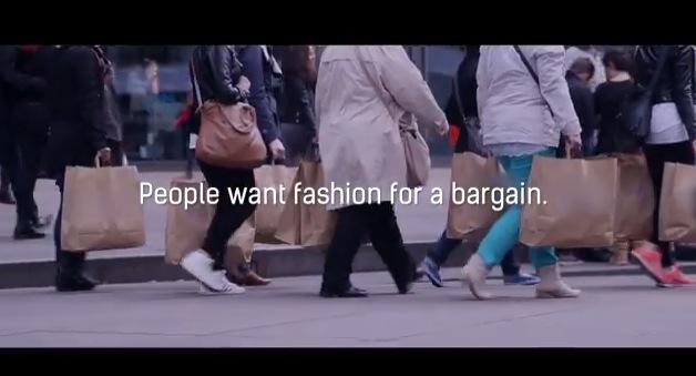 VLC ♥ El experimento de la máquina de poleras baratas por Fashion Revolution