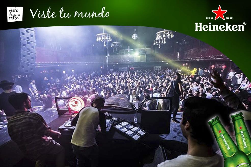 #HeinekenLife: Nasty Mondays en el club Apolo, el mejor lugar para bailar en Barcelona