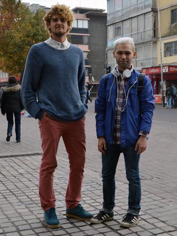 Mario Romero y Daniel Pino