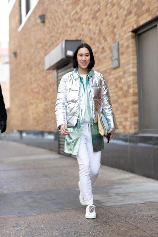 Tendencia: Cómo implementar elementos metálicos al outfit