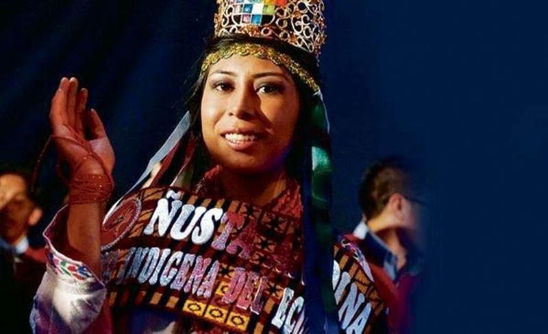 'Ñusta Andina', la primera reina indígena de Ecuador